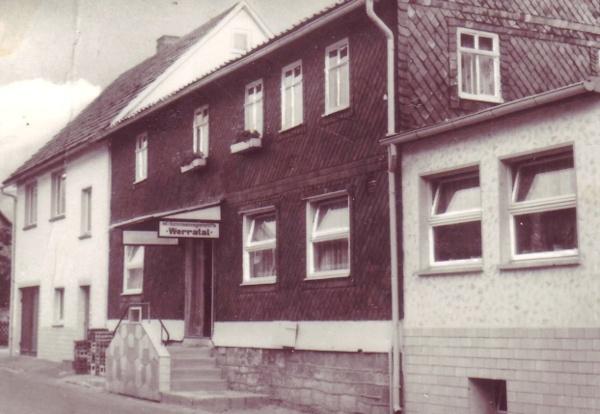 Gasthaus Zum Werratal um 1972
