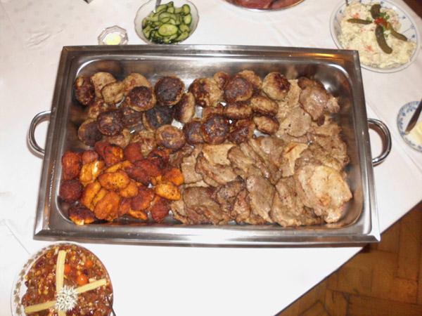 warme Fleisch Spezialitaeten
